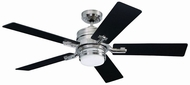 Emerson Ceiling Fans CF880LBS Amhurst Brushed Steel LED 54 Home Ceiling Fan