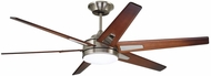 Emerson Ceiling Fans CF915W60BS Rah Eco Brushed Steel LED 60  Ceiling Fan