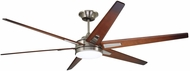 Emerson Ceiling Fans CF915W72BS Rah Eco Brushed Steel LED 72 Ceiling Fan