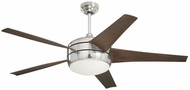 Emerson Ceiling Fans CF955LBS Midway Eco Modern Brushed Steel LED 54  Ceiling Fan