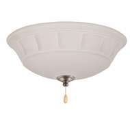 Emerson Ceiling Fans LK141LEDAP Grande White Mist Antique Pewter LED Ceiling Fan Light Fixture