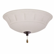Emerson Ceiling Fans LK141LEDDBZ Grande White Mist Distressed Bronze LED Fan Light Fixture