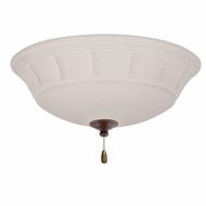 Emerson Ceiling Fans LK141LEDGBZ Grande White Mist Gilded Bronze LED Ceiling Fan Light Fixture