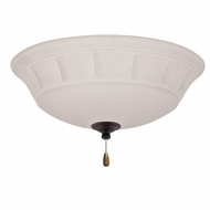 Emerson Ceiling Fans LK141LEDGES Grande White Mist Golden Espresso LED Fan Light Fixture