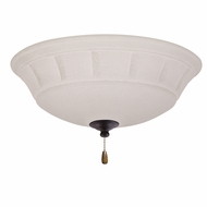 Emerson Ceiling Fans LK141LEDORB Grande White Mist Oil Rubbed Bronze LED Ceiling Fan Light Fixture