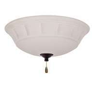 Emerson Ceiling Fans LK141LEDVNB Grande White Mist Venetian Bronze LED Ceiling Fan Light Fixture