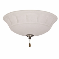 Emerson Ceiling Fans LK141LEDVS Grande White Mist Vintage Steel LED Fan Light Fixture