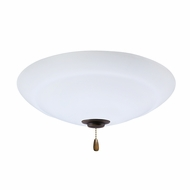 Emerson Ceiling Fans LK180LEDGES Riley Golden Espresso LED Fan Light Fixture