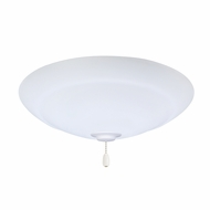 Emerson Ceiling Fans LK180LEDSW Riley Satin White LED Fan Light Fixture