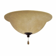 Emerson Ceiling Fans LK71LEDVNB Amber Parchment Venetian Bronze LED Ceiling Fan Light Fixture