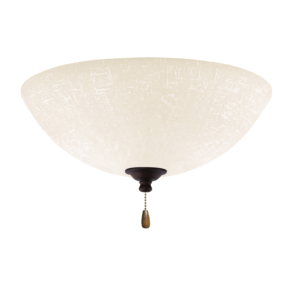 Ceiling Fans With Light Fixtures : Emerson ceiling fans lk ledvnb white linen venetian