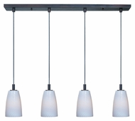 ET2 E94204-13 Contemporary 24  Tall Multi Pendant Hanging Light