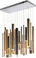 ET2 E10017-MPLT Flute Contemporary LED Multi Ceiling Light Pendant