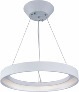 ET2 E20226-MW Apollo Contemporary Matte White LED Pendant Lamp