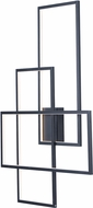 ET2 E20708-BK Converge Modern Black LED Wall Sconce