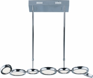 ET2 E21144-01PC Timbale Contemporary Polished Chrome LED Island Lighting