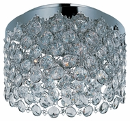 ET2 E21150-20PC Modern Polished Chrome 15  Wide Ceiling Lighting