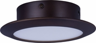 ET2 E21160-01BZ Hilite Modern Bronze LED Flush Mount Lighting