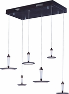 ET2 E21166-01BZ Hilite Modern Bronze LED Multi Hanging Light Fixture