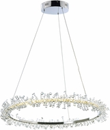 ET2 E21211-20PC Bracelet Polished Chrome LED 27  Ceiling Light Pendant