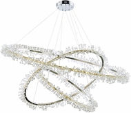 ET2 E21216-20PC Bracelet Polished Chrome LED Drop Lighting Fixture
