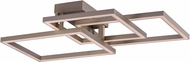 ET2 E21513-CHP Traverse Contemporary Champagne LED Ceiling Lighting