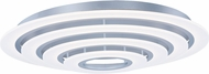 ET2 E22668-11MS Saturn II LED Modern Matte Silver Ceiling Light Fixture