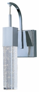 ET2 E22760-89PC Modern Polished Chrome 4.75  Wide Wall Sconce Lighting