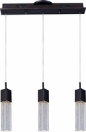 ET2 E22763-89BZ Fizz III Contemporary Bronze LED Multi Pendant Light