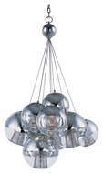 ET2 E22787-81PC Modern Polished Chrome 3  Wide Hanging Lamp