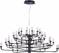 ET2 E24367-09BZ Candela Modern Bronze LED 44.5  Chandelier Lighting