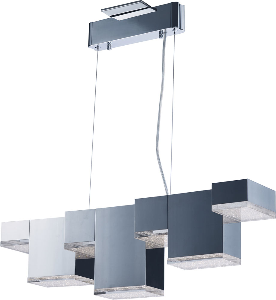 ET2 E24466-160PC Pizzazz Contemporary Polished Chrome LED Kitchen ...