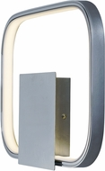 ET2 E24550-PC Squared Modern Polished Chrome LED Lighting Sconce