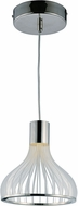ET2 E24562-75PC Turbo Contemporary Polished Chrome LED Mini Drop Lighting
