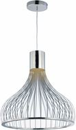 ET2 E24568-75PC Turbo Modern Polished Chrome LED Ceiling Pendant Light