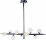 ET2 E24571-91PC Bubbly Contemporary Polished Chrome LED Island Lighting