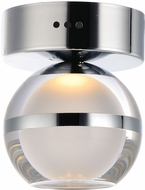 ET2 E24590-93PC Swank Modern Polished Chrome LED Flush Lighting