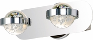 ET2 E30612-91PC Cosmo Contemporary Polished Chrome LED 2-Light Bath Lighting