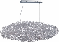ET2 E32578-PC Dazed Contemporary Polished Chrome LED Kitchen Island Lighting