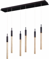 ET2 E32776-118BRZ Scepter Contemporary White LED Multi Drop Lighting Fixture