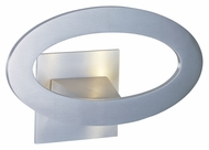 ET2 E41300-SA Modern Satin Aluminum 3.5  Wide Wall Mounted Lamp