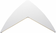 ET2 E41334-WT Alumilux Modern White LED Outdoor Sconce Lighting