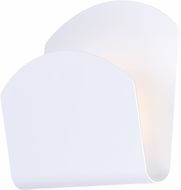 ET2 E41490-WT Alumilux Modern White LED Interior / Exterior Wall Light Fixture