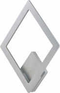 ET2 E41495-SA Alumilux Contemporary Satin Aluminum LED Outdoor Wall Light Sconce