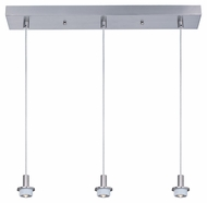ET2 ES94203-SN Modern 23.5  Wide Multi Pendant Lighting