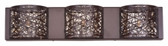 ET2 E21316-10BZ Contemporary Bronze 5  Tall Wall Lamp