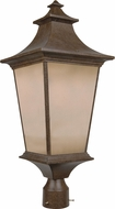 Craftmade Z1325-98 Argent Aged Bronze Exterior Lighting Post Light