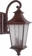 Craftmade Z1374-98 Argent II Aged Bronze Exterior Large Wall Sconce Lighting