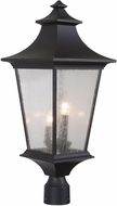 Craftmade Z1375-11 Argent II Midnight Outdoor Post Light Fixture