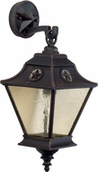 Craftmade Z1404-07 Chaparral Traditional Rust Outdoor Small Wall Mounted Lamp